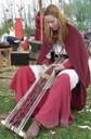 fabrication d'un galon en soie