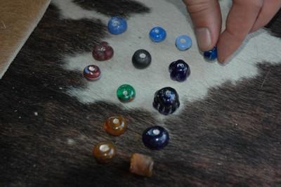 -et fin... une centaine de perles sur les deux jours