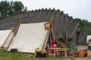 Ragnhild et Jani s'occupent au camp