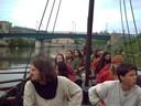 La branche rouge en bateau