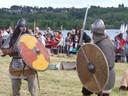 Aed et Ditter sur le champ de bataille