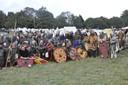 Avec les autres Saxons et la Confrérie Normande
