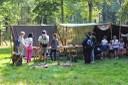 Le public sur le camp