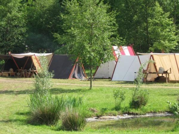 Campement au musée de Marle