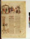Latin 6 (1), fol. 56, Moïse recensant les Hébreux