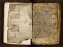 Paris, Bibl. Sainte-Geneviève, ms. 2385, f. 001v-002 - vue 2