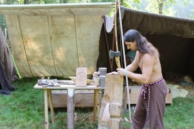 Fabrication d'une planche de chêne