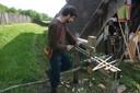 Travail au tour à bois